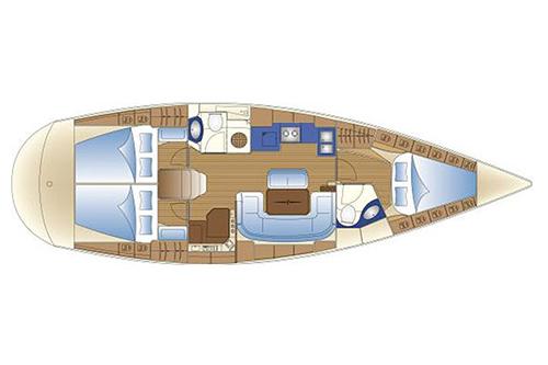 Bavaria 42 cruiser charter Croatia
