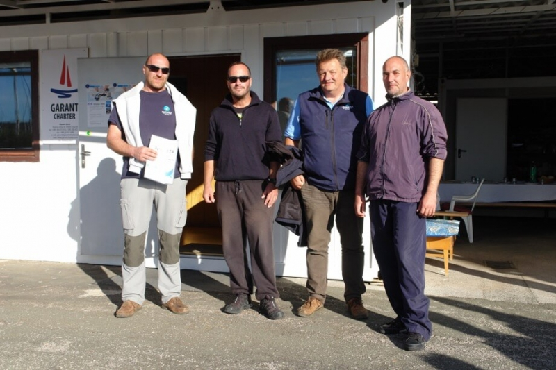 2nd place - boat Pharos with skipper Arman Percinlic